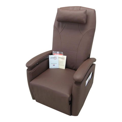 fauteuil relax Fitform Vario 570 cuir brun